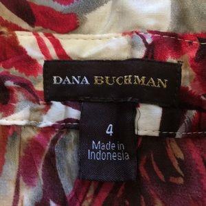 Dana Buchman Tops - Dana Buchanan Print Button Down Blouse sz 4